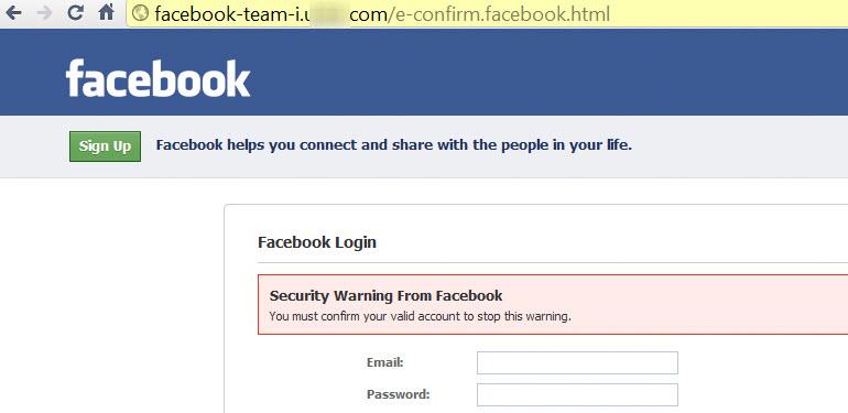 ændre kode på facebook
