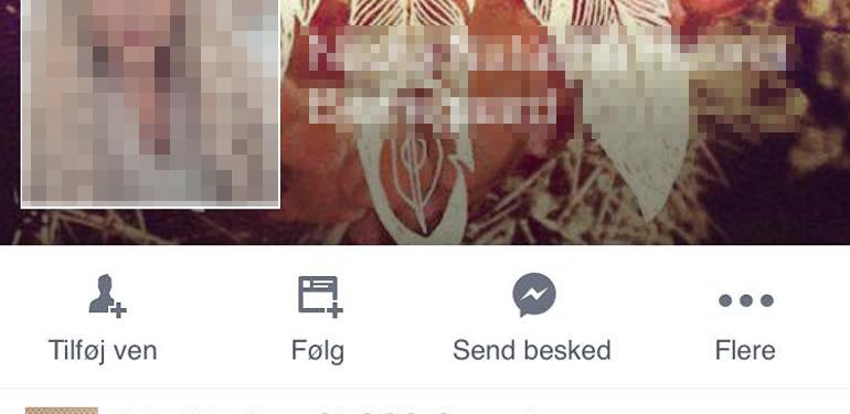 En ubeskyttet Facebook konto giver mange oplysninger.