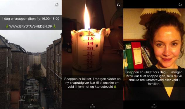 Bryd Tavsheden på Snapchat