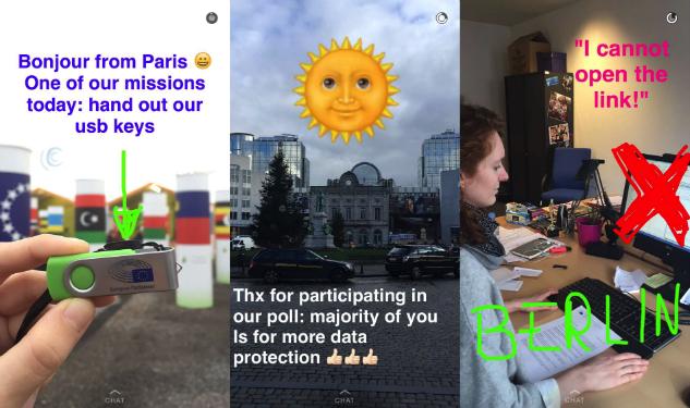 European Parliament på Snapchat